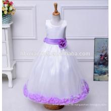Elegante 2017 preiswerte preis sommer blumenmädchen kleid bunte bogen ballkleid mädchen party tragen western dress