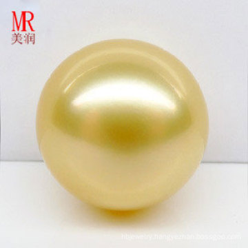 13mm Real Gold South Sea Water Loose Pearls