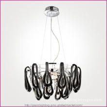 Black Glass Pendant Light JD1020/12