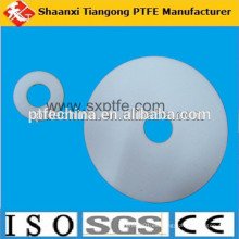 Pequeña arandela de alta presión desgaste plástico de la corrosión alto PTFE amortiguador del cojín