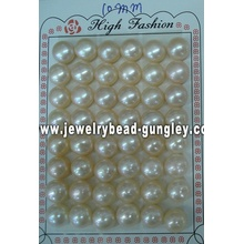 Mitad perforado perla grado AAA 11mm, rosa