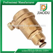Novo mais popular válvula de ventilação de ar de latão para o sistema de aquecimento