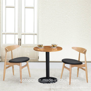 Popular Wooden Chatting Tea Cafe Table and Chair Sets (SP-CT628)