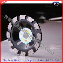 Swirly Rim Diamond Cup Grinding Wheel for Marble and Stone