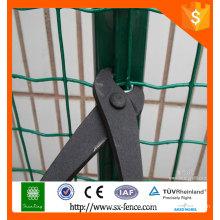 Clôture en PVC recouverte de PVC / prix hollande en treillis métallique par grillage