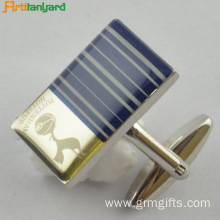 Personalized Engraved Cufflinks With Plating