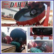 animal manure fertilizer granulating disc for making manure into granules