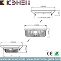 15W Commercial LED Downlights 5 Inch Changeable