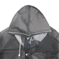 Adult Waterproof/Windproof TPU rain poncho raincoat