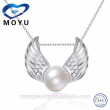 Горячий продавая шкентель перлы конструирует форму крыльев ангела быструю поставку
