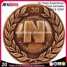 Нестандартная конструкция металла штемпелюя сувенир антиква Золотая копия Индия старая монета для продажи