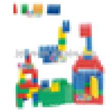 JQ1008 Kindergarten Pädagogische Kinder Plastik Baustein Montage Spielzeug