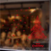Árvore de Natal removível Red Import Wall Sticker