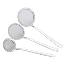 Gadget de cuisine skimmer en acier inoxydable 304
