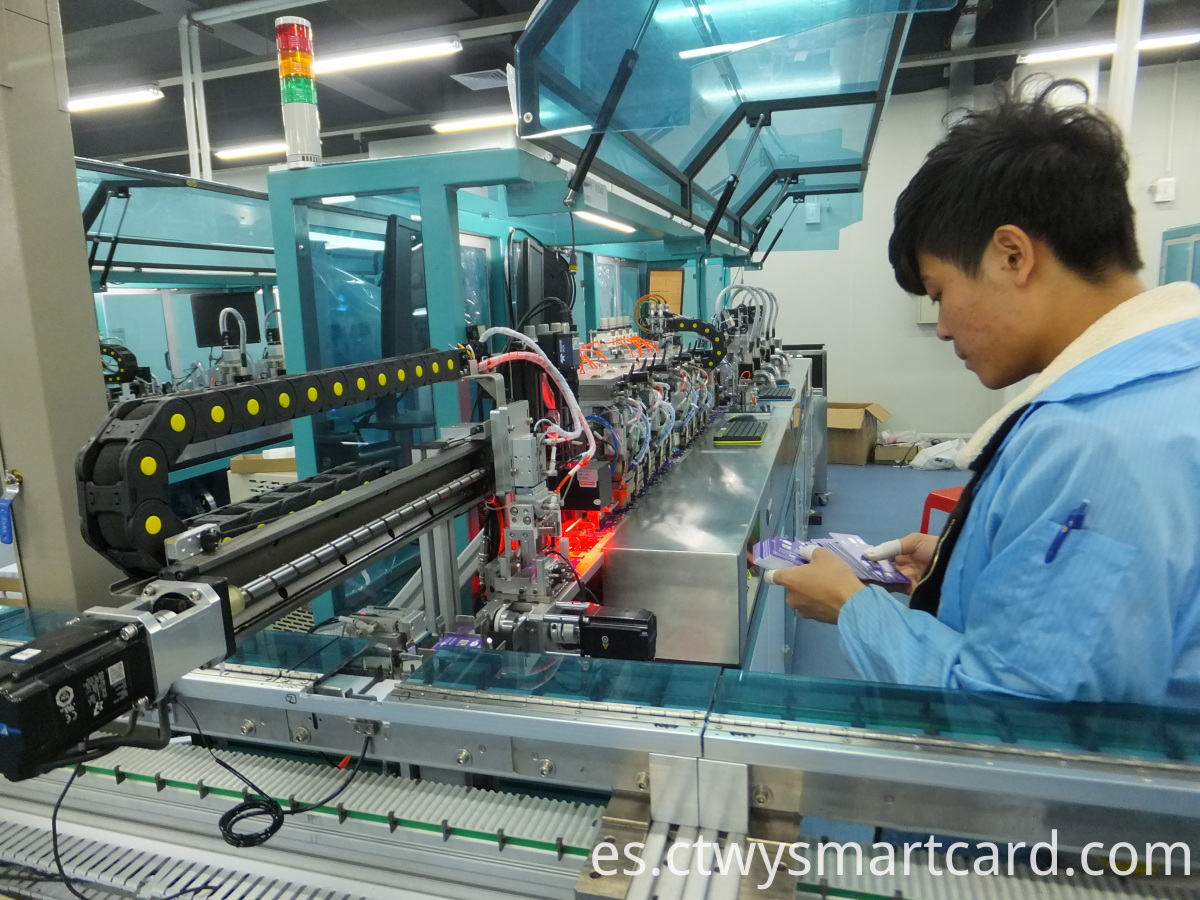 Full auto SIM card production line