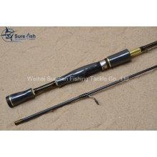 Carbono por atacado, girando a vara de pesca pesca Tackle