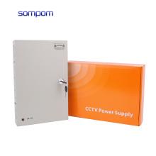 SOMPOM 12V 10A 120W 18CH high quality CCTV Switch Power Supply for CCTV Camera