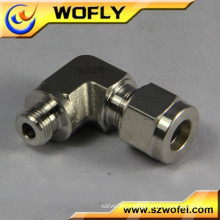 industrial pipe fitting dimension male connector tube