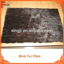 Mink Scrap Fur Plate