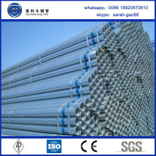 China Factory selling high quality pre-galvanized tube size