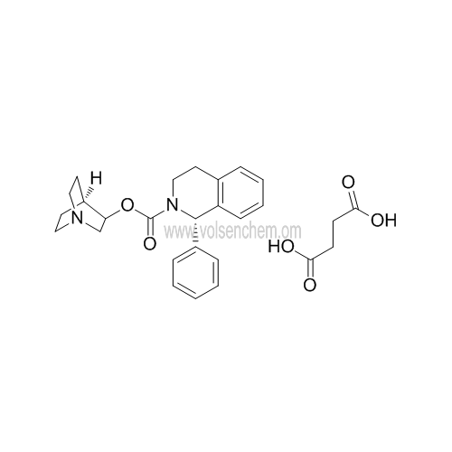 CAS 242478-38-2,Hight Purity 99% Solifenacin Succinate