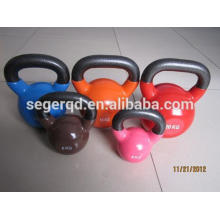 kettlebells and dumbbells