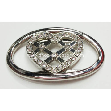 Rhinestone Fancy Alloy Buckle for Lady Shoes