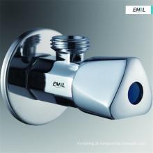 Acessórios de latão para banheiro com válvula angular