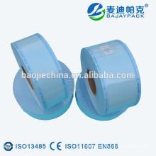El proveedor confiable de China imprimió el carrete plano de la esterilización del lacre del calor para las herramientas del clavo