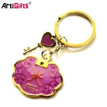 Handmade Custom machen Sie Ihren eigenen Charme diy Multi-Ring-Schlüsselanhänger