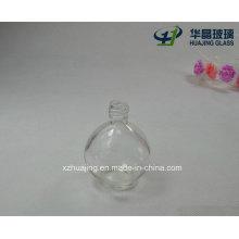 Custom Made 50ml Ball Shaped Clear Pefume Glass Bottles