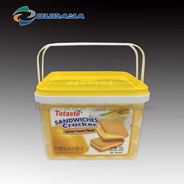 Injektionsnahrungsmittelbehälter mit Aufdruck