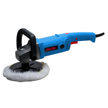Electric function of floor polisher with parts
