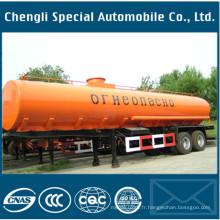 Réservoir de carburant 4axles inox réservoir 40000liters huile remorque