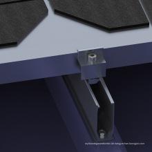 Metalldach Mini Rail Solar Kit 1mW Sonnensystem