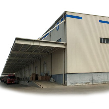 China Friendly Prefabricated Cheap Light Steel Structure Frame Buildings Hall/Storage Shed/ Warehouse Sale