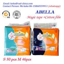 Pacote Jumbo Embalagem Econômica Baby Diaper in Bales