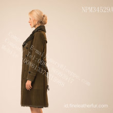 Reversible Australia Merino Women Shearling Coat
