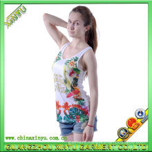 Custom Tank Top for Ladies, New Fashion Cotton Tank Top