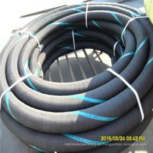 Manguera de goma insertada del alambre de acero de 3 pulgadas para la succión 10bar de la bomba de agua