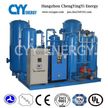 Sistema de adsorção de oscilação de pressão de nitrogênio de oxigênio Psa