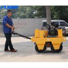 Rolos de estrada vibratórios do compactador 550KG do rolo diesel do poder de KIPOR (FYL-S600C)