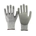 NMSAFETY 13 калибровочных нейлон и ПЭВД лайнер с полиуретановым покрытием сократить устойчивые перчатки