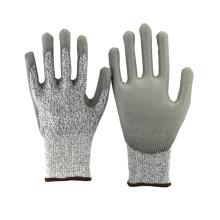 Guantes NMSAFETY calibre 13 nylon y HPPE revestidos guantes resistentes al corte