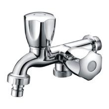 Zinc Dual Handle Wash Machine Faucet Tap Bibcock