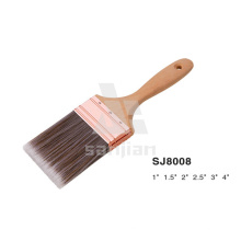Hot Selling Sj8008 Flat Paint Brush