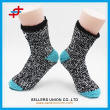 2015 Neue microfiber Damen benutzerdefinierte warme Socke für Mode, Socken Hersteller