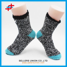 2015 Chaussettes chaudes personnalisées pour dames en microfibres pour la mode, fabricants de chaussettes