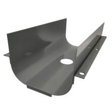 Sheet metal parts for industrial equipment