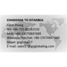 Hunan Changsha to Turkey Istanbul
